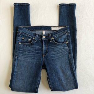 RAG & BONE Jeans Cate Mid-Rise Skinny 25